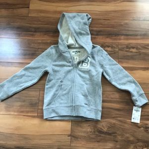 Sparkly gray hoodie NWT